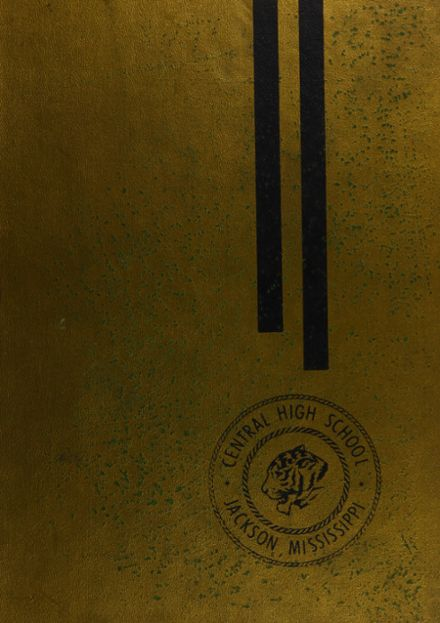 1967 Central High School Yearbook Cover