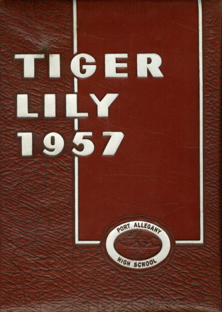 1957 Port Allegany High School Yearbook Cover