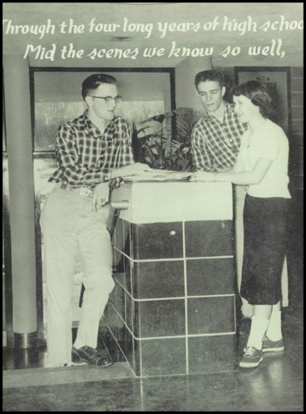 1957 Port Allegany High School Yearbook Page 7