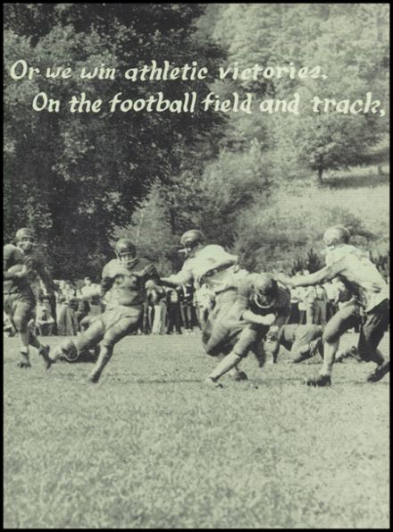 1957 Port Allegany High School Yearbook Page 9