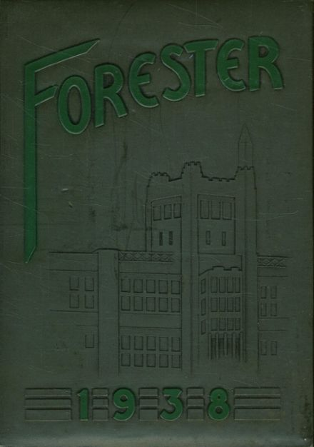 1938 Forest Park High School 406 Yearbook Cover