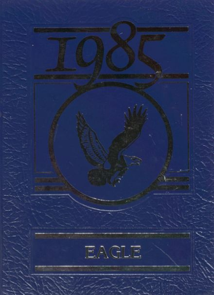 1985 Brentwood High School Yearbook Cover