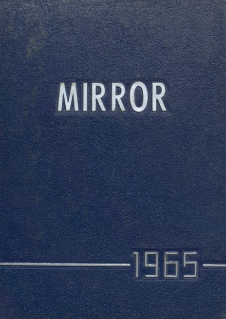 1965 Melvin-Sibley High School Yearbook Cover