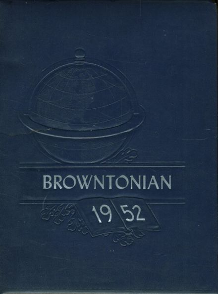 1952 Luzerne High School Yearbook Cover