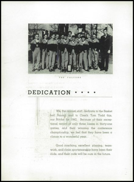 1942 Fayette High School Yearbook Page 6