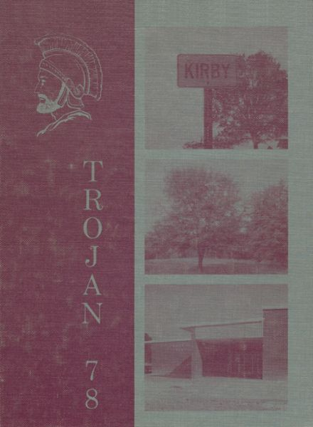 1978 Kirby High School Yearbook Cover