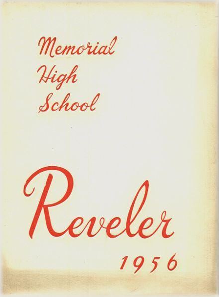 1956 Campbell Memorial High School Yearbook Cover
