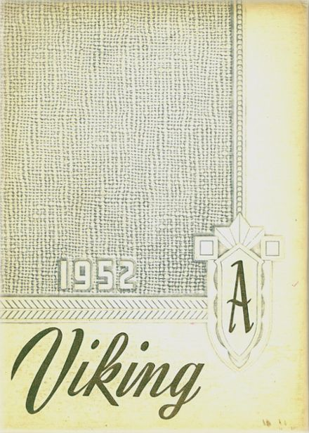 1952 Ada High School Yearbook Page 1