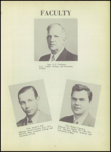 1952 Ada High School Yearbook Page 7