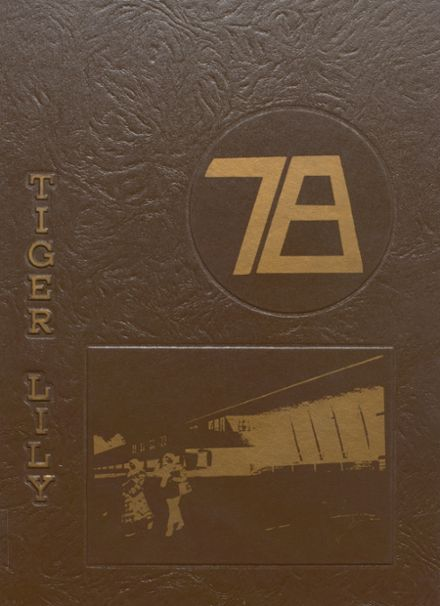1978 Port Allegany High School Yearbook Cover