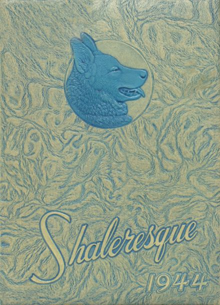 1944 Shaler Area High School Yearbook Cover