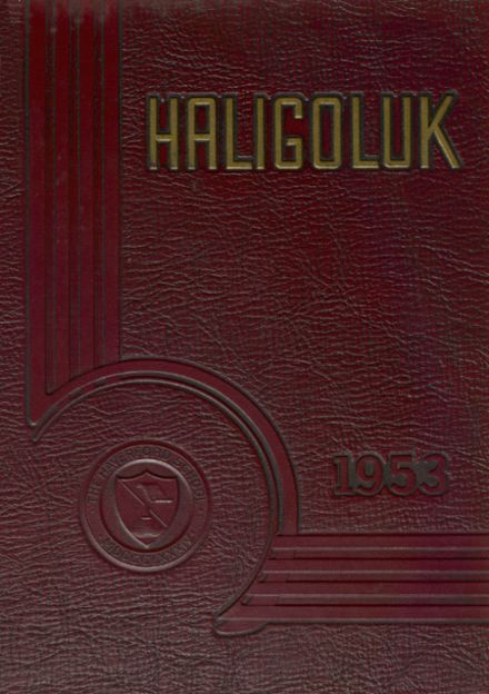 1953 Haverford School Yearbook Cover