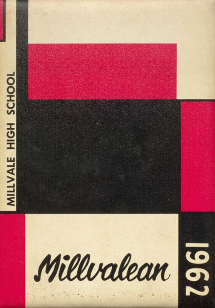 1962 Millvale High School Yearbook Cover