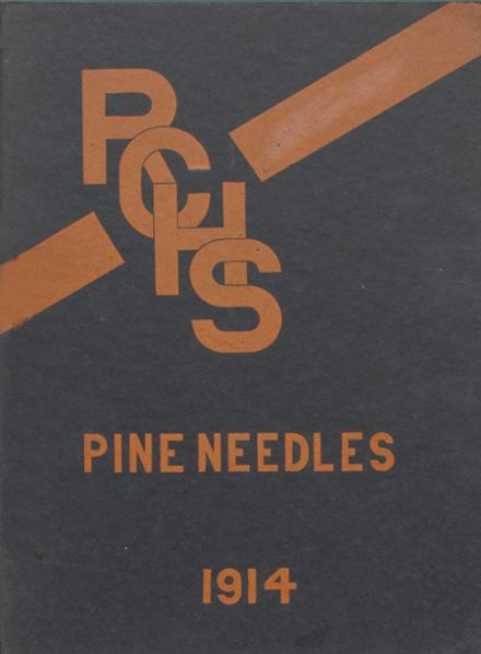 1914 Richland Center High School Yearbook Cover