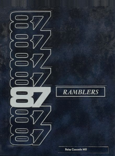 1987 Cascade High School Yearbook Cover