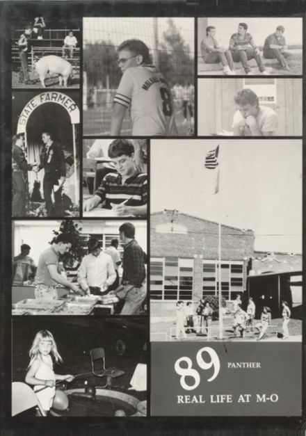 1989 Mulhall-Orlando High School Yearbook Cover