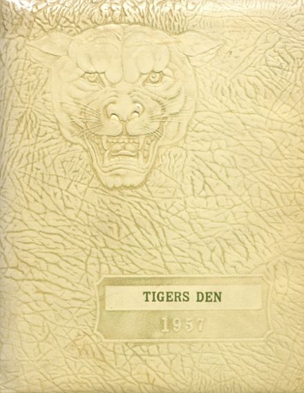 1957 Greenup County High School Yearbook Cover