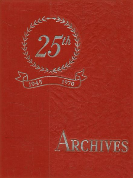 1970 Everett High School Yearbook Cover