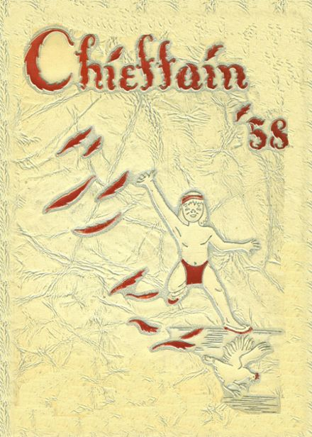 1958 Loveland High School Yearbook Cover