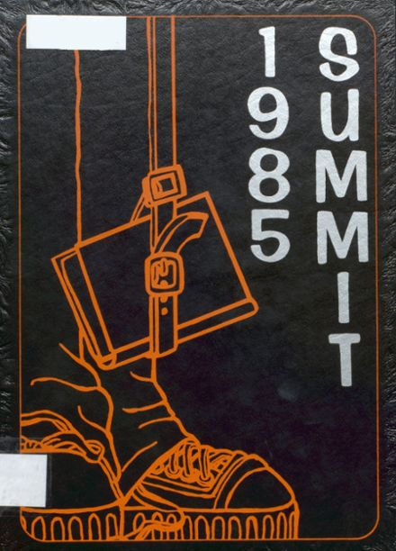 1985 Chester High School Yearbook Cover