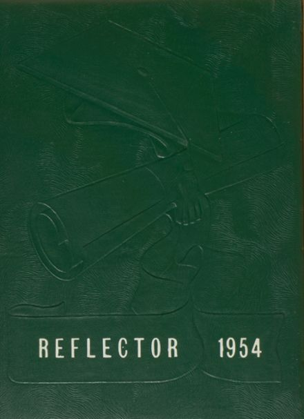 1954 Fennville High School Yearbook Cover