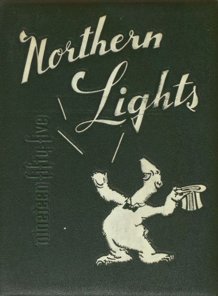 1955 North High School Yearbook Cover