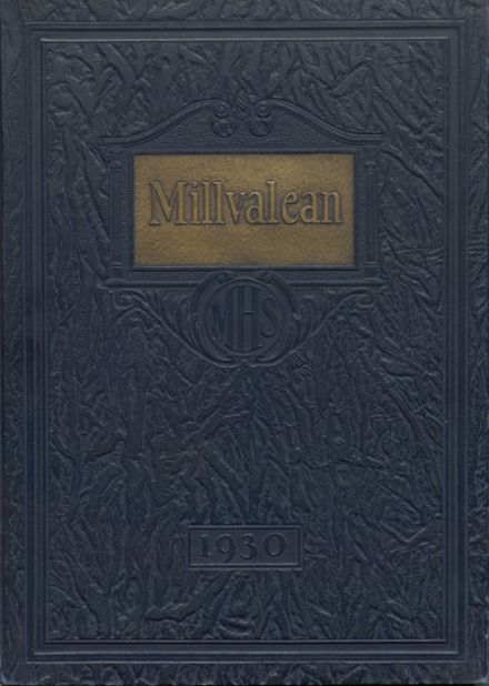 1930 Millvale High School Yearbook Cover