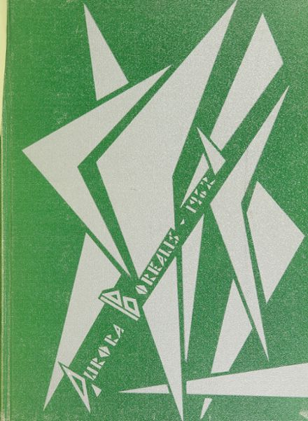 1962 Aurora Central High School Yearbook Cover