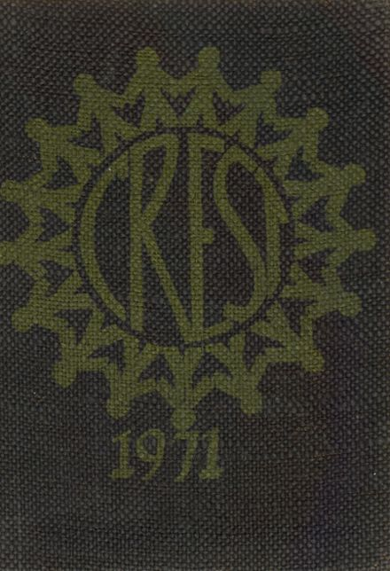 1971 St. Ursula Academy Yearbook Cover