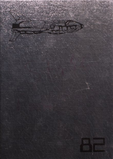 1982 Boone High School Yearbook Cover