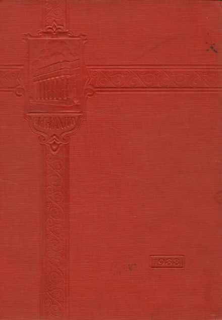 1933 Resource Learning Center High School Yearbook Cover