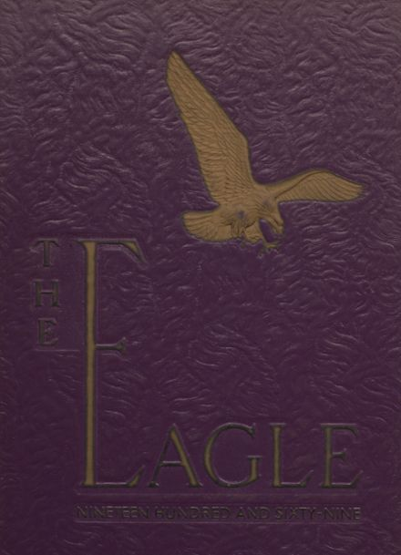 1969 Campbellsville High School Yearbook Cover