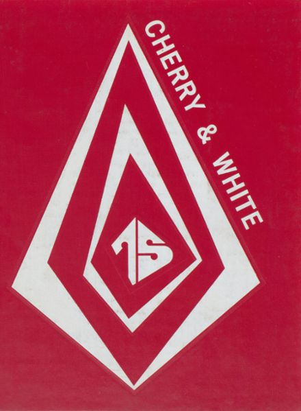 1975 Bucktail Area High School Yearbook Cover