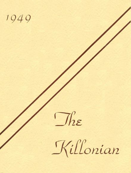 1949 Killingly High School Yearbook Cover