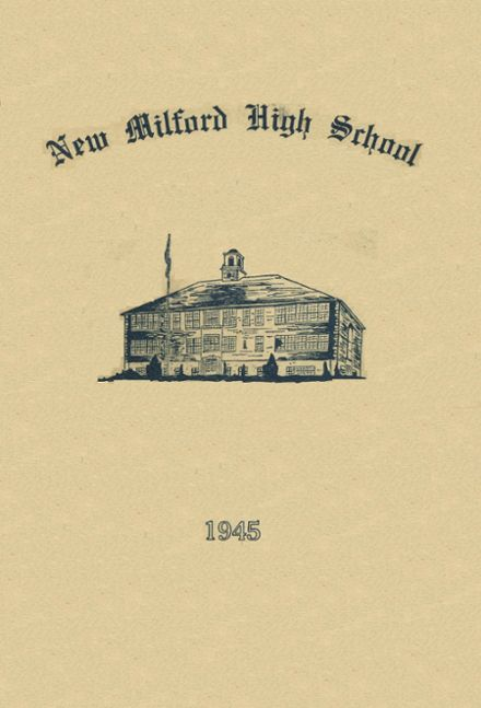 1945 New Milford High School Yearbook Cover
