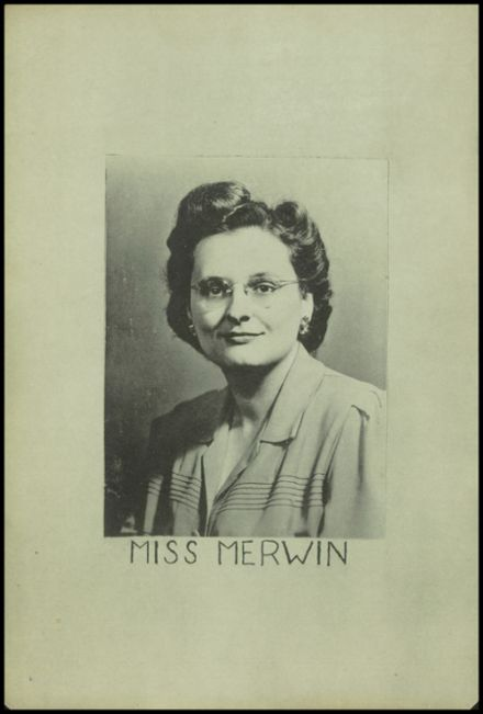 1945 New Milford High School Yearbook Page 4
