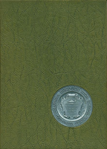 1972 Columbia High School Yearbook Cover