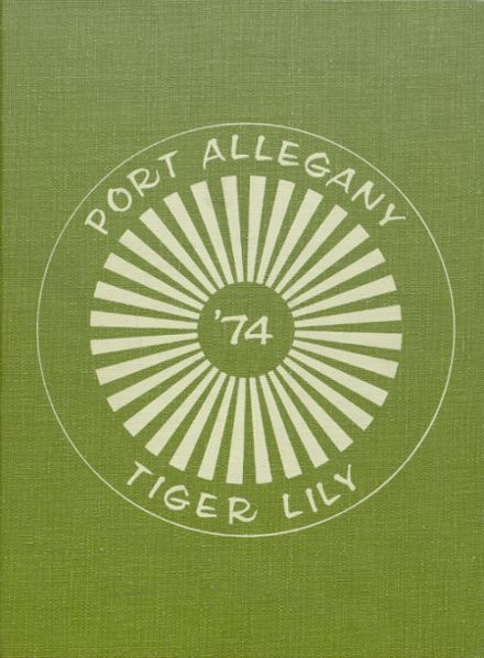 1974 Port Allegany High School Yearbook Cover