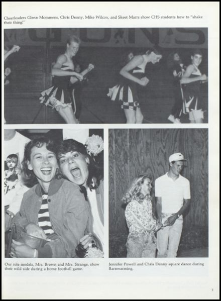 1991 Cameron High School Yearbook Page 7
