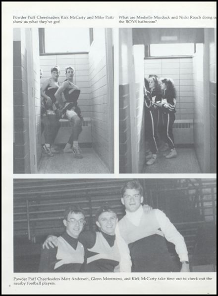 1991 Cameron High School Yearbook Page 8