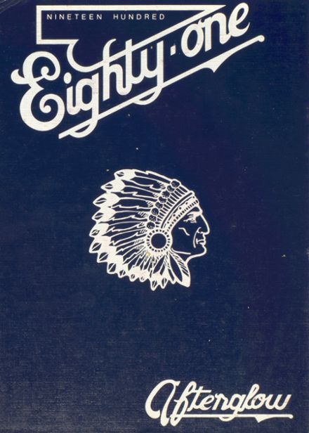 1981 Clearwater High School Yearbook Cover