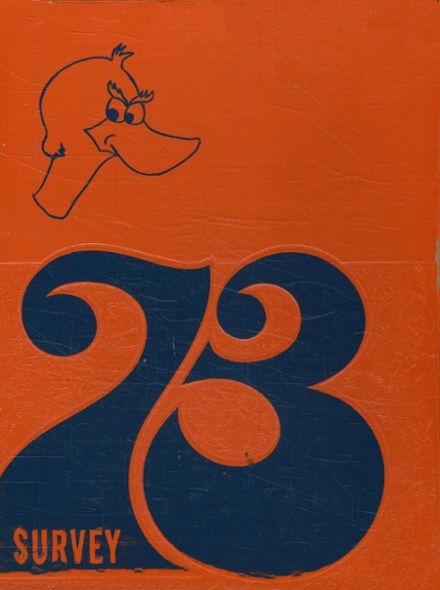 1973 Frederick Douglass High School 450 Yearbook Cover
