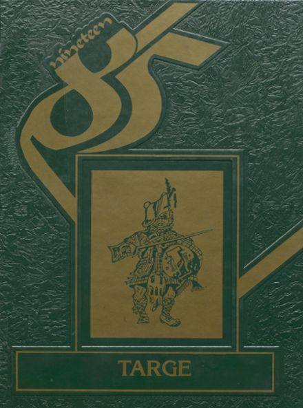 1985 Incline High School Yearbook Cover
