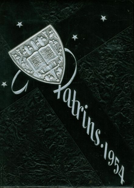 1954 St. Joseph's Academy Yearbook Cover