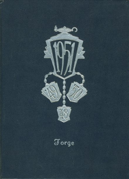 1951 Spring Grove High School Yearbook Cover