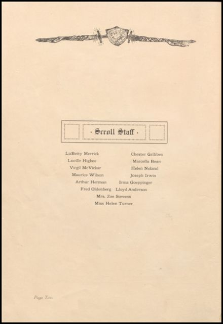 1927 Boone High School Yearbook Page 8