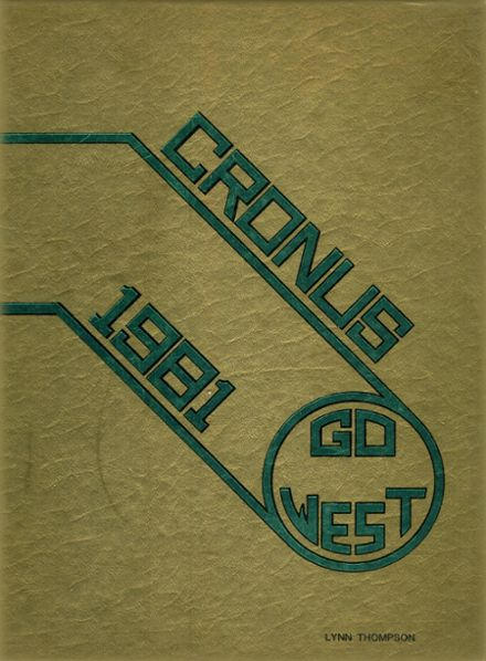 1981 West Forsyth High School Yearbook Cover
