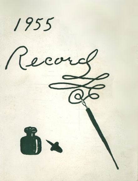 1955 Montpelier High School Yearbook Cover