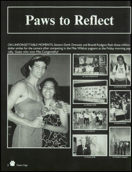 2003 Watson Chapel High School Yearbook Page 6