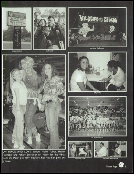 2003 Watson Chapel High School Yearbook Page 7
